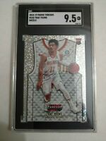 Trae Young Rookie SGC 9.5 2018-19 Panini Threads #103 Dazzle