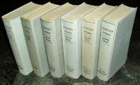 Goethes Werke in sechs Bänden komplett Insel Verlag 1950 Ganzleinen Werkausgabe
