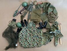Vintage 1960s Army Gi Joe Outfits + Other Accessories