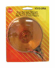 Peterson  Round  Amber/Red  Combination Light