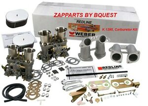 PORSCHE 912,914,VW Pancake 1.7 L, 1.8 L, 2.0 L   REDLINE ,44 MM Carburetor Kit