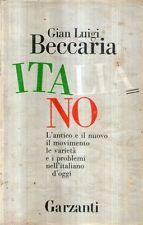 MU24 Italiano Beccaria Garzanti 1988