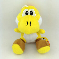 Yellow Yoshi Super Mario Bros Plush Toy Species Yellow Shoe Stuffed Animal 6""
