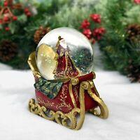 Musical Santa Dome - Christmas Snow Globe - Tabletop Christmas Decoration
