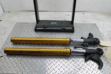 13-15 Kawasaki Zx6r 636 Pair Front Forks