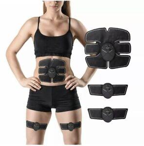 Electric Muscle Toner EMS Fitness Machine Toning Belt 6 Six Pack Abs Fat Burner
