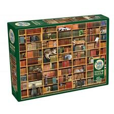 Cobble Hill 80216 The Cat Library Puzzle 1000pc