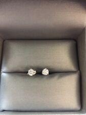 F COLOR, Arctic Brilliance Canadian Diamond Stud Earrings! .50 CTW