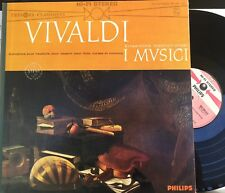 I MUSICI Vivaldi Wind Concertos LP Philips 835058 AY HI-FI Stereo NM France