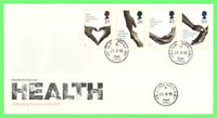 G.B. 1998 NHS Health set on Royal Mail First Day Cover, Healing cds