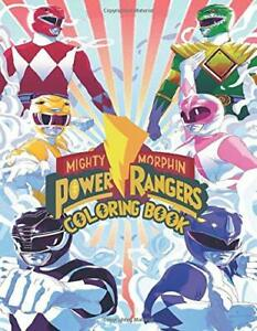 Power Rangers Coloring Book by Leslie Meyer
