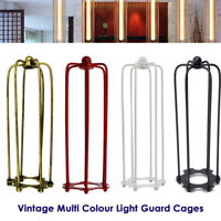 Long Wire Cage Shade Metal Vintage Retro Industrial Ceiling Light Lamp Fitting