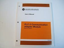 Allen-Bradley 1775-6.5.1 Plc-3 Commications Adapter Module User Manual
