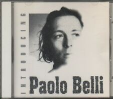 PAOLO BELLI	INTRODUCING CDS Promo Acetate	1994 **COME NUOVO**