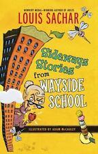 SIDEWAYS STORIES from WAYSIDE SCHOOL L. Sachar BRAND NEW BOOK Ebay BEST PRICE!