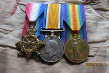GB WW1 Trio Medals
