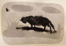 Künstlerische Malerei - - Aquarell-Technik auf Papier