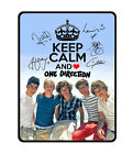 New [1D] Keep Calm and Love [One Direction] Niall Horan Fleece Throw Blanket