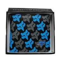 New with Box FOX Men's Surf Synthetic Leather Wallet  Xmas Gift #131