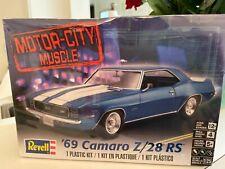Revell '69 Camaro Z/28 RS Motor City Muscle Model Kit FACTORY SEALED DENTED BOX