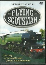 FLYING SCOTSMAN STEAM CLASSICS DVD - STORY OF THE WORLD'S MOST FAMOUS STEAM LOCO