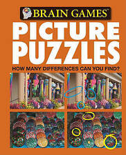 NEW Brain Games Picture Puzzles: How Many Differences Can You Find? No. 5