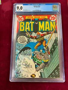 DC Comics CGC 9.0 Holiday Issue BATMAN #247 DICK GIORDANO Cover 1973