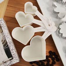 40 Heart Shaped Measuring Cup set wedding favors Bridal Shower Favor