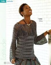 Berroco Knitting & Crochet Pattern Booklet #282 Latitude - 8 designs for Women