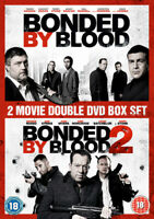 Bonded By Blood 1&2 DVD (2017) Michael Socha, Hall (DIR) cert 18 2 discs