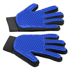 Pet Grooming Gloves Shedding Gloves Brush, Dog Bathing Massage Gloves - 1 Pair