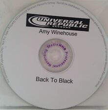 MASTER Press AMY WINEHOUSE *Back To Black* Test Pressing CD PROMO USA