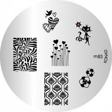 konad Image Plate M83 Disc Stamping Nail Art UK