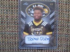 JA'LEN PARKS Florida State 2017 Leaf Army All-American BLANK BACK Tour Auto #2/2