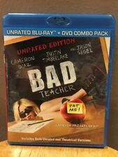 Bad Teacher (Blu-ray + DVD, 2011, 2-Discs) Cameron Diaz
