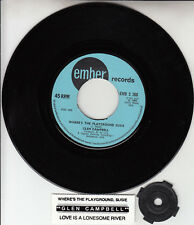 """GLEN CAMPBELL Where's The Playground Susie? NEW 7"""" 45 rpm record + jukebox strip"""