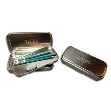 DERWENT pencil tin scatola metallo doppio strato portamatite 42pz 2300582