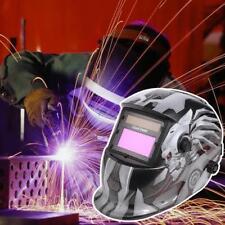 MASCHERA CASCO SALDATORE SALDATURA LCD AUTOMATICA MIG TIG 5 -13 DIN AUTOSCURANTE