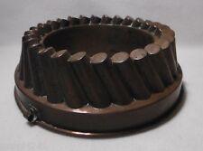 ++ alte Kupfer Backform / Pastetenform, Aspik- Kupfermodel  ++Hhj