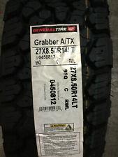 1 New LT 27 8.50 14 LRC 6 Ply General Grabber A/TX Tire