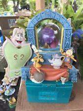 Beauty and the Beast Disney Store Belle Beast Dancing Musical Snow Globe