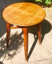 ART Deco UP-riciclata Oak ROUND console TAVOLO DA Gaskell & CAMERE Birmingham
