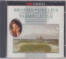Brahms-Sibelius-Violin Concertos-Tasmin Little-Vernon Handley (Nuovo! OVP)