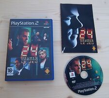 24 heures chrono Jack Bauer Le Jeu Sony PS2 Complet