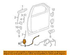GM OEM Front Door-Lock Actuator Motor 25876388