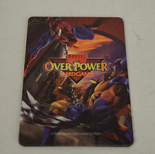 Marvel Ultra Onslaught Fleer 1996 Trading Card Overpower Hero Set 1 2 3 4