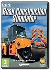Road Construction Simulator (PC CD) (UK IMPORT) Nuovo e Sigillato