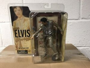 Elvis Presley 4th Edition 1956 The Year In Gold Action Figure 2005 McFarlane NIP