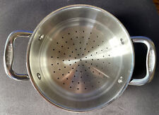 New listing Cuisinart Stainless Steel Steamer Insert/Strainer With Dual Handles 6116-18S