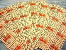 Vintage 800 BROWN & Williamson B&W Cigarette Tobacco Coupons 100 sheets